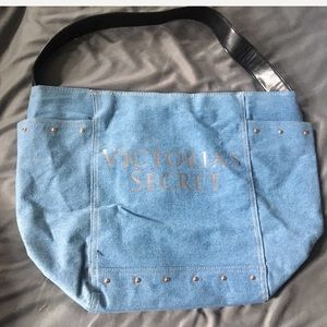 PINK Victoria's Secret Denim tote like new